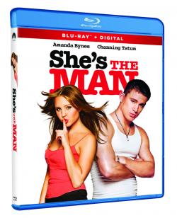 SHE'S THE MAN on Blu-ray from Paramount Home Entertainment!