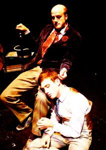John Geoffrion and Kyle Cherry star in 'Gross Indecency,' continuing through Aug. 26 at the BCA
