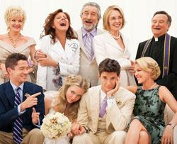The cast of 'The Big Wedding'