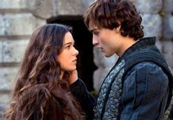 Hailee Steinfeld and Douglas Booth in a scene from 'Romeo and Juliet'