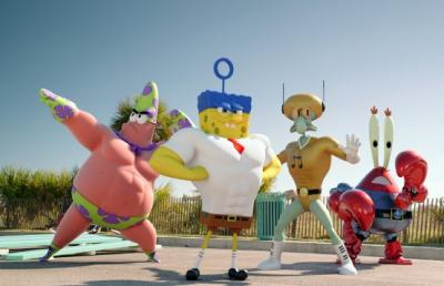 A scene from 'The SpongeBob Movie: Sponge Out of Water'