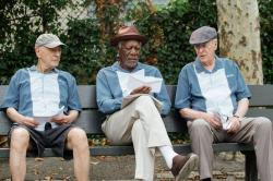 Alan Arkin, Morgan Freeman, and Michael Caine star in 'Going in Style'