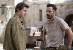 Tom Cruise and Jake Johnson star in 'The Mummy'