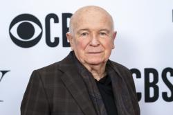 "This May 1, 2019 file photo shows playwright Terrence McNally at the 73rd annual Tony Awards ""Meet the Nominees"" press day in New York."