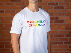 As Trump and Pence Ignore Pride Month, MAGA 'Pride' Shirts Still Offered for Sale