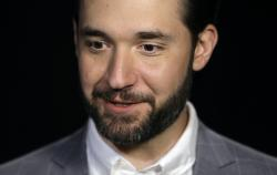 In this Feb. 19, 2019, file photo, Alexis Ohanian, founder of the social media company Reddit, gives an interview in New York