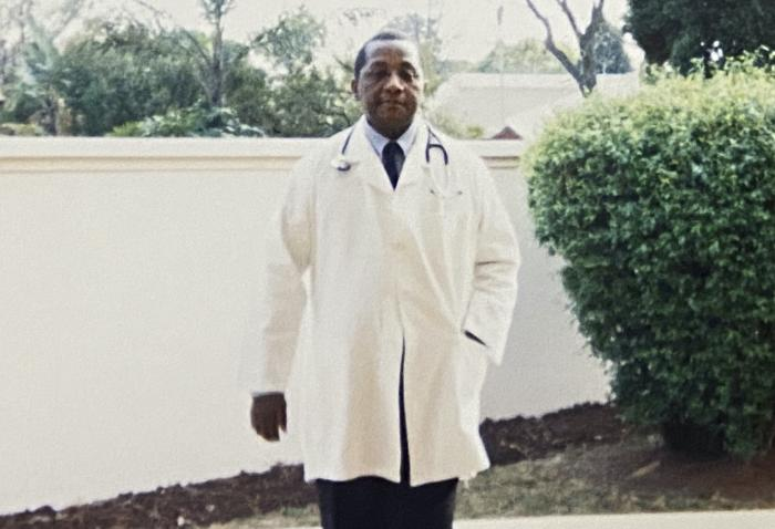 the late South African doctor and activist Dr. Clarence Mini.