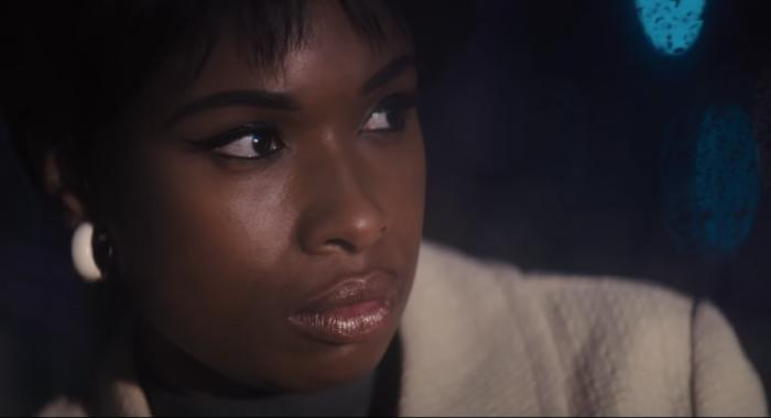 "Jennifer Hudson in the trailer for ""Respect."""