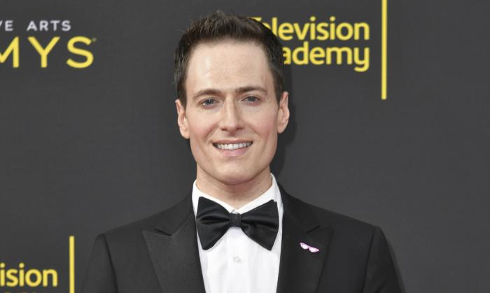 Randy Rainbow arrives at the Creative Arts Emmy Awards on Sept. 14, 2019, in Los Angeles.