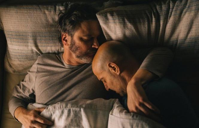 Colin Firth and Stanley Tucci in 'Supernova'