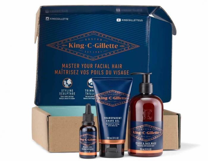 King C. Gilette beard care line
