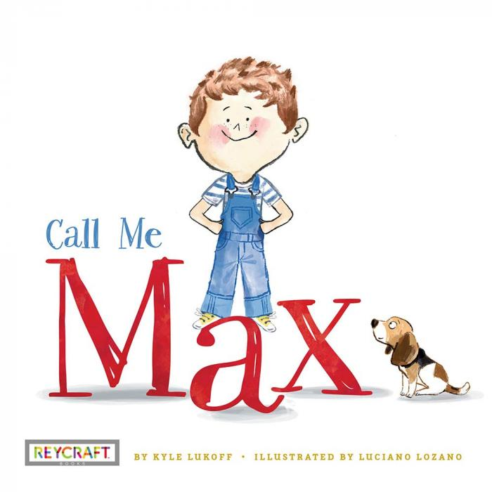 """The cover of """"Call Me Max."""""""