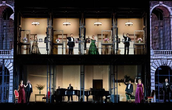San Francisco Opera's innovatively-staged 'The Adlers: Live at the Drive In' concert at the Marin Center