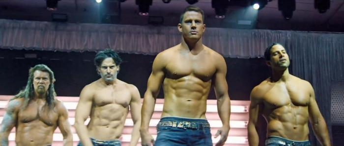 """Channing Tatum and cast members of """"Magic Mike"""""""