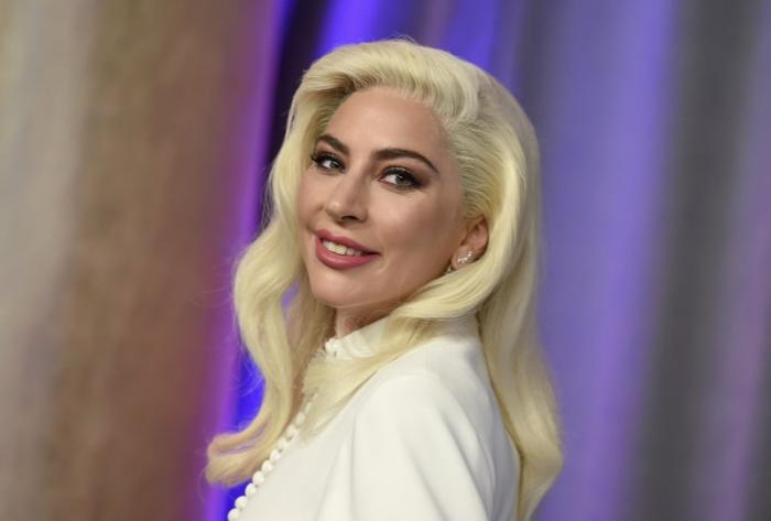 This Feb. 4, 2019 file photo shows Lady Gaga at the 91st Academy Awards Nominees Luncheon in Beverly Hills, Calif.