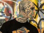 'Mr. Snake' — France's Most Tatted Man — Banned from Teaching Kindergarten Because He Scares Children