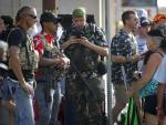 Aloha Shirts on 'Boogaloos' Link Symbol of Peace to Violence