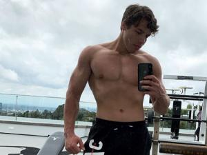 Bodybuilder Joseph Baena Celebrates Film Role with Speedo Thirst Trap