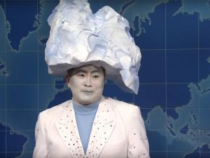 Watch: Out 'SNL' Star Bowen Yang Reveals Hidden History of Iconic 'Iceberg' Sketch with Jean Smart